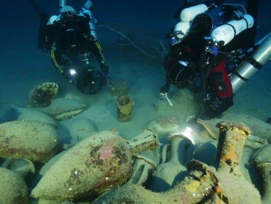 Ancient Shipwreck Artifacts