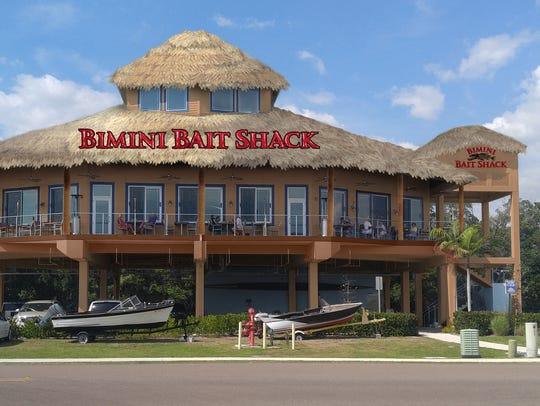 A rendering of the forthcoming Bimini Bait Shack in
