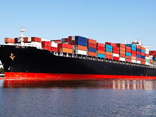 international trade stock