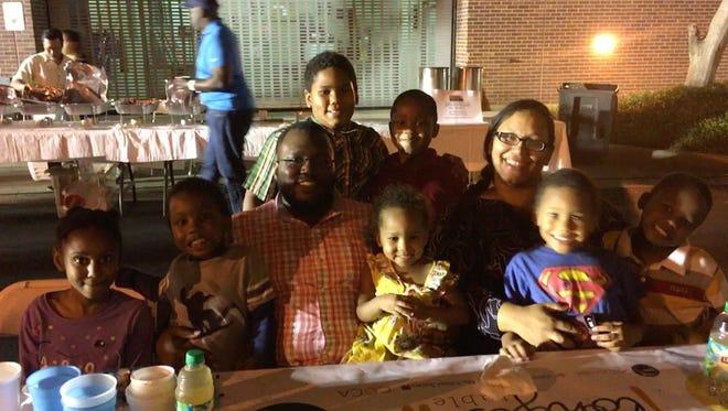 Raymond and Rosemary Isham and family