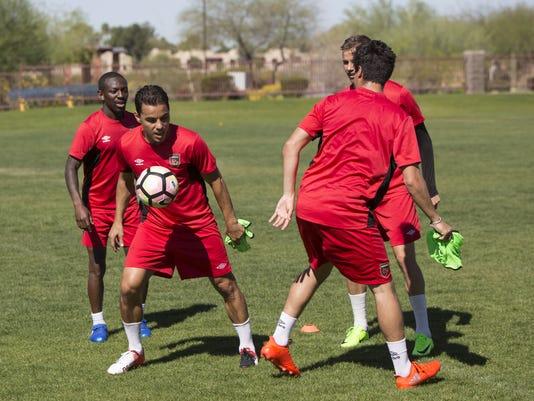 Phoenix Rising Soccer Team