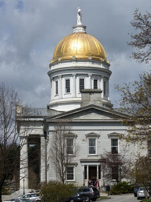 The Statehouse in Montpelier.