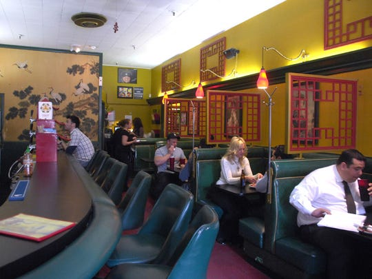 When King Ying Low closed, it had been open for a hundred years and, in that time, had become one of Des Moines' stalwart institutions. The restaurant's atmosphere and decor havelargely been preserved by Fong's Pizza.