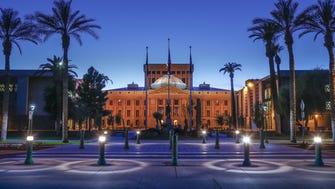 The Arizona State Capitol in Phoenix.
