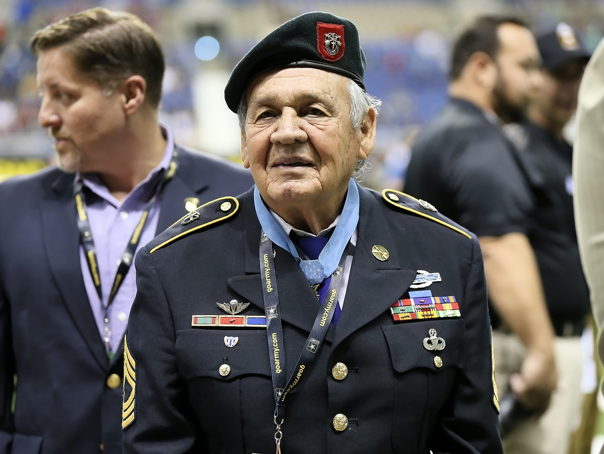 Jose Rodela, who has lived in San Antonio since retiring from the Army in 1975, received the Medal of Honor from President Obama last March at the White House.