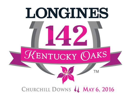 2016 Kentucky Oaks logo.