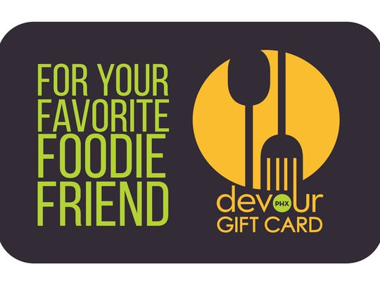 One e-card gets you into one of 25 Phoenix-area restaurants, including Cibo in Phoenix, Joyride Taco house in Gilbert and Phoenix, Hula's Modern Tiki in Scottsdale, four Postino locations and four The Vig locations, among others. To buy: devourphoenix.instagift.com.