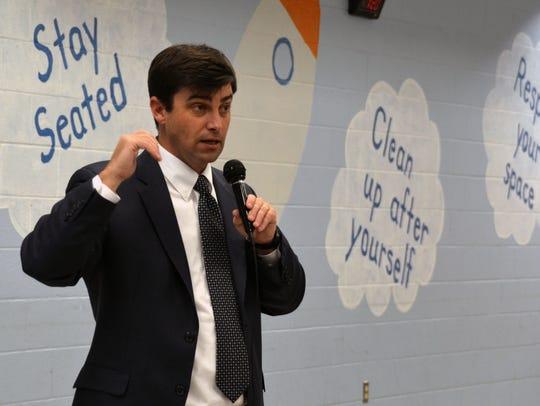 Nolensville High School Principal Bill Harlin talks
