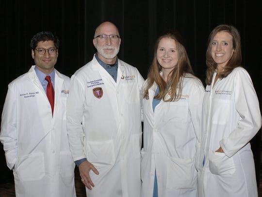 Drs. Adrian Abreo, Tom Arnold, Jennifer kelley, Mindie