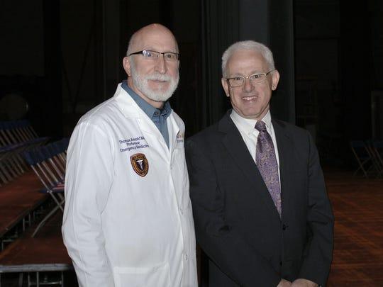 Drs. Tom Arnold and Mark Platt.