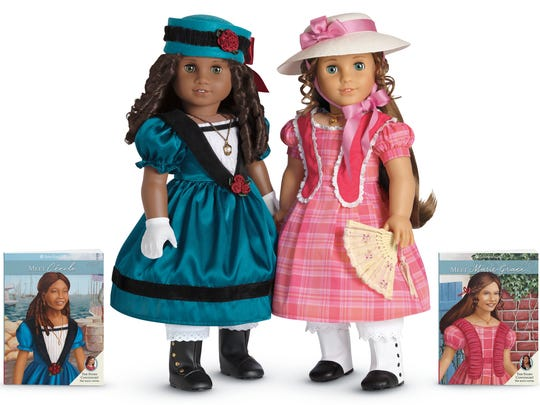 American Girl dolls Cecile Rey and Marie-Grace Gardner