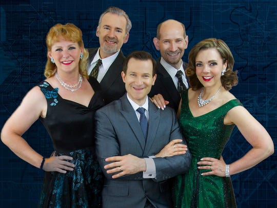 The vocal quintet, Five By Design, will perform with