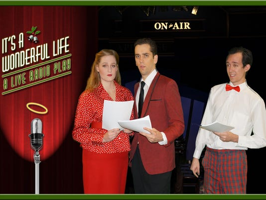 Hillsborough: Somerset Valley Players present 'It's A Wonderful Life - A Live Radio Play' through Dec. 18  PHOTO CAPTION