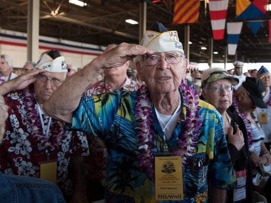 75th Commemoration Event of the Attack on Pearl Harbor