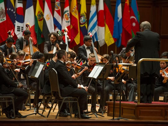 The Southern Miss Symphony Orchestra's theme this year celebrates its rich international culture.