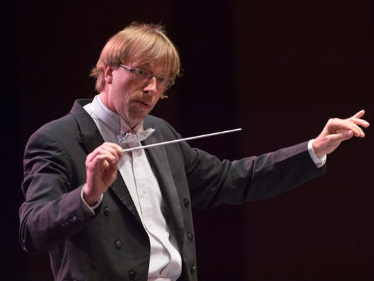 Eckart Preu, music director of the Cincinnati Chamber Orchestra, says even conductors can get repetitive motion injury.