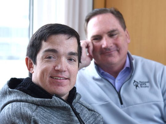 Ryan Dant and his father Mark return to UT Southwestern