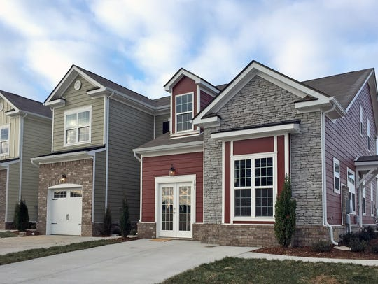 Shirebrook townhomes in Spring Hill are selling at