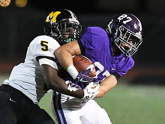 Football: Monmouth Regional at Rumson Fair Haven on 10/27/2017
