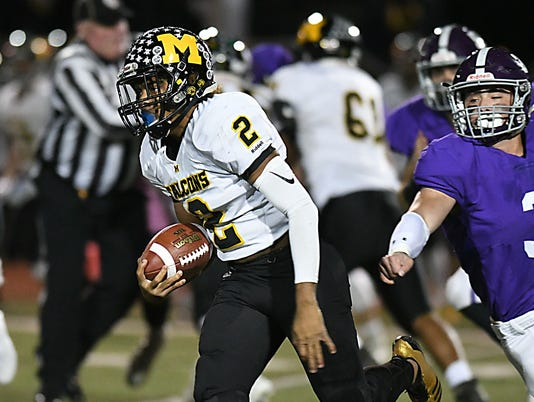 Football: Monmouth Regional at Rumson -  Fair Haven on 10/27/2017