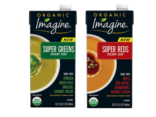 Convenience Meal: Imagine Super Greens & Reds - Hain