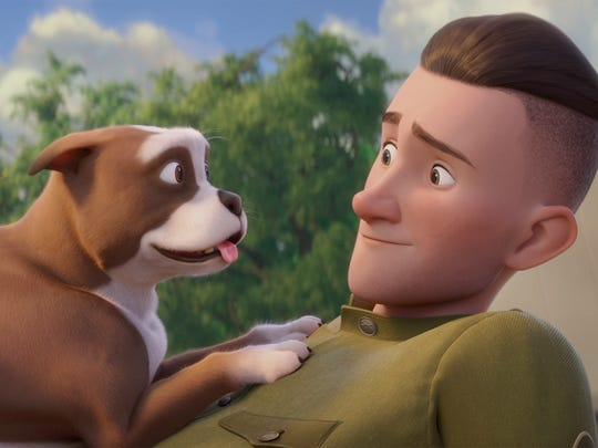 "A dog saves the day during World War I in ""Sgt. Stubby: An American Hero."""