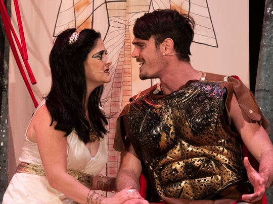 Antony and Cleopatra come to life in Palm Beach Shakespeare Festival's Shakespeare by the Sea XVIII production running July 12 to 22 at the Seabreeze Amphitheater in Carlin Park in Jupiter.