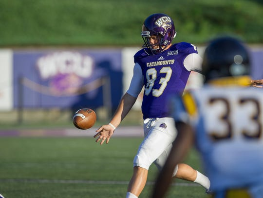Western Carolina's Ian Berryman may be the best punter