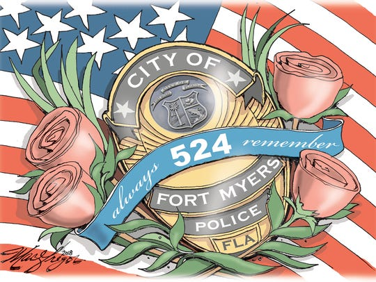 Remembering Fort Myers Officer Adam Jobbers-Miller.