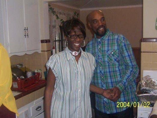 Pamela and Kippriol Boynton pose for a photo in 2004,