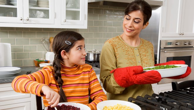 Sara Haas, a chef and spokesperson with the Academy of Nutrition and Dietetics, said children who are encouraged to take part in meal preparation are usually very engaged and want to do more.