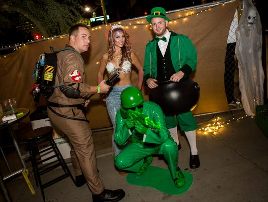 These pals showed off their creativity at Halloween