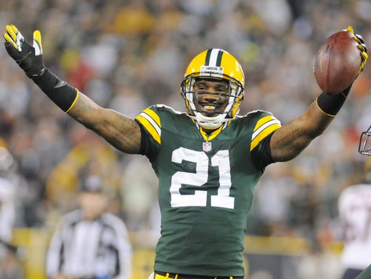 Charles Woodson, had 38 interceptions during his Packers