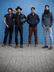 The Avett Brothers will perform Sunday, Nov. 8, at