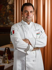 Marco Coricelli, chef and owner of Osteria Celli in
