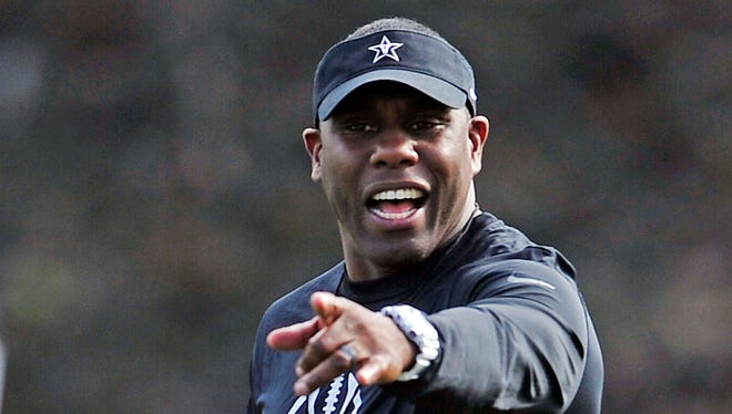 """South Carolina coach Steve Spurrier called Vanderbilt's Derek Mason (above) an """"excellent"""" coach."""