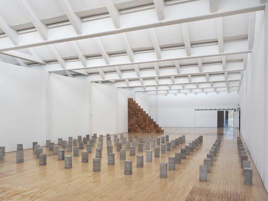 Art From Here: Carl Andre exhibition at Dia:Beacon