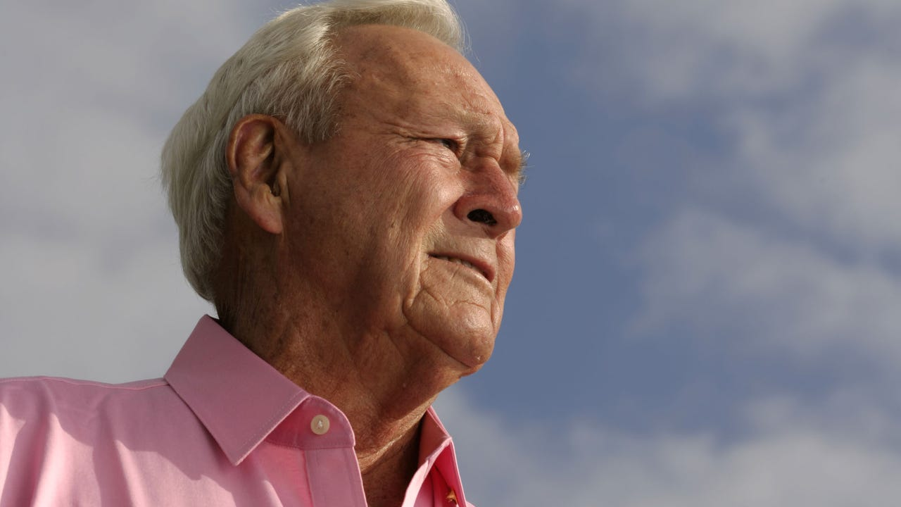 Arnold Palmer, 'The King' of golf, dies at 87