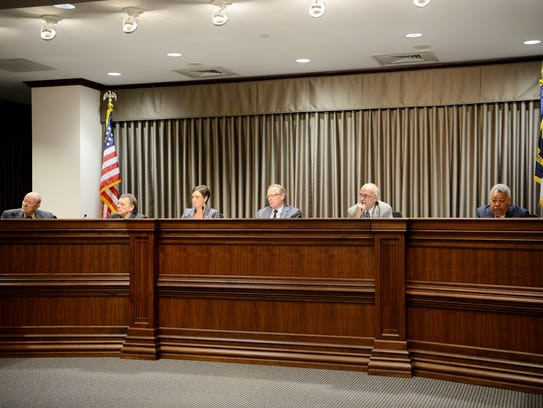 The Buncombe County Board of Commissioners heard from