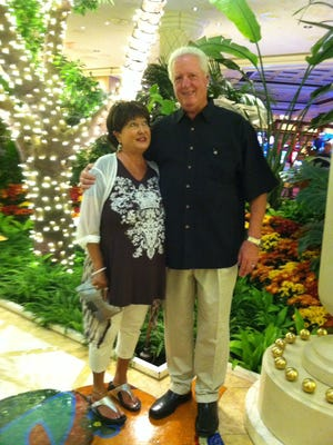Dick Winderl with his wife, Janie. Winderl died Jan. 14 of pancreatic cancer at age 70.