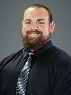 Northern Michigan football player Anthony Herbert