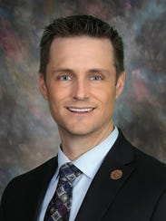 Andrew C. Sherwood is the Democratic State Senator