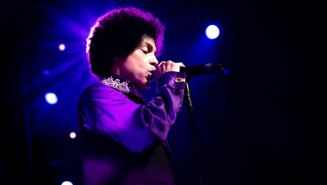 Prince at Montreux Jazz Festival, in Montreux, Switzerland, in July 2013.