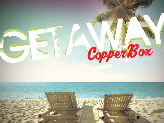 Cover of Copper Box band's most recent CD, Getaway.
