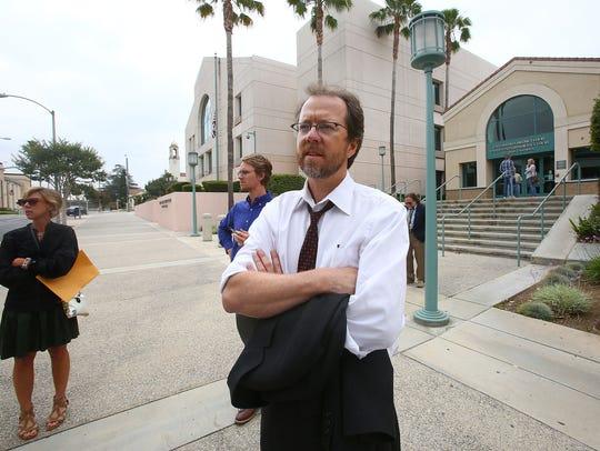 Matt Kenna, who represents three organizations trying