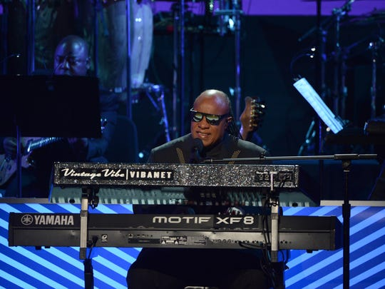 "Stevie Wonder performs at ABC's ""Taking the Stage:"