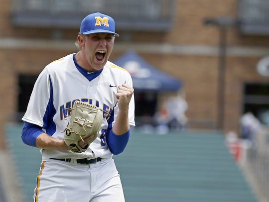 Sam Greene/Community Press Moeller starting pitcher