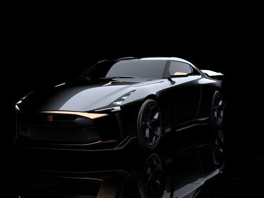 Nissan Injects Italian Design Into Sports Car Concept Creating The