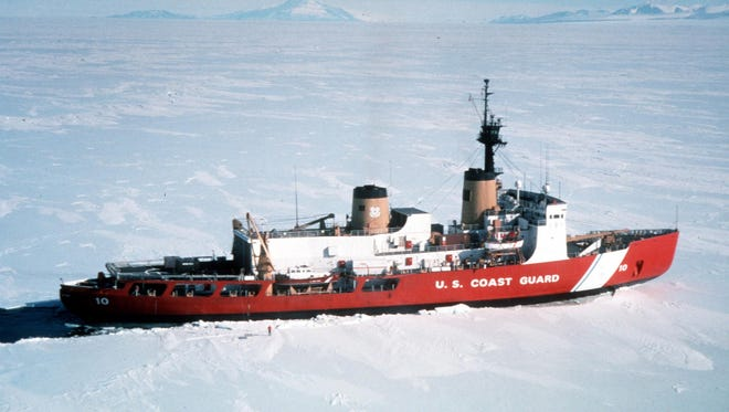 U.S. Coast Guard Cutter Polar Star, the nation's only functional heavy icebreaker.