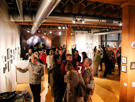 Gallery goers can purchase unique and affordable pieces
